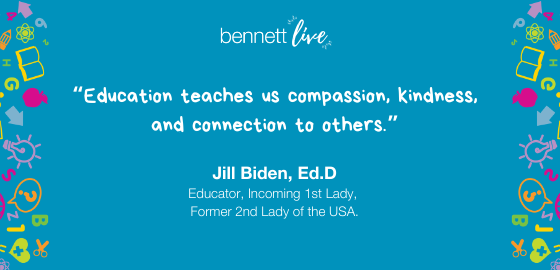 Jill Biden on Connection