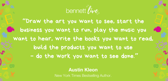 Austin Kleon on Creating