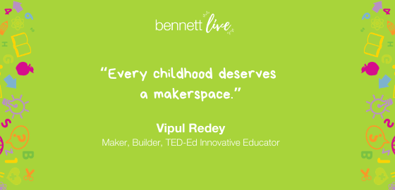Vipul Redey on Makerspaces