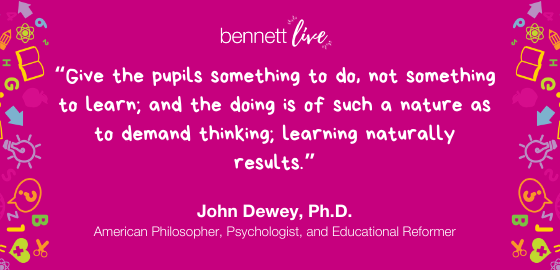 John Dewey on Learning by Doing